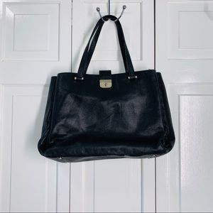 ♠️ Kate Spade ♠️ NY Black Leather Computer Bag